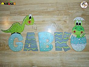 Tabuľky - Nápis - Gabko - 12399100_