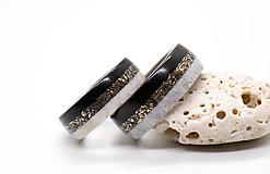 Prstene - Obručky EBONY BRONZ - 12397936_
