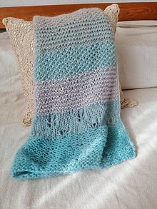 Textil - Detská dúhová deka III - 12396625_