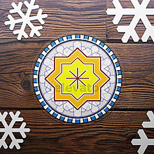 Pomôcky - Vianočná podšálka - 12398321_
