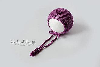 Detské čiapky - S jednoduchým lemom - 12404806_
