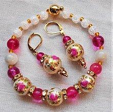 Sady šperkov - Kvetinová romanca - 12402976_