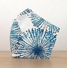 Rúška - Bavlnené rúško - 2 vrstvy Púpava -  zľava z 4,90 na 4 € - 12404084_