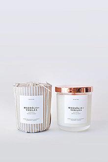 Svietidlá a sviečky - Pure No.2 - Magnólia + Vanilka - 12404138_
