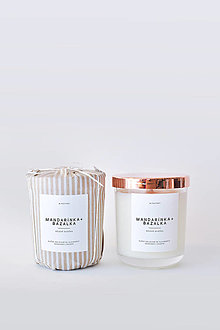 Svietidlá a sviečky - Pure No.2 - Mandarínka + Bazalka - 12404151_