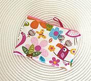 Detské tašky - Detská peňaženka, taštička  (Peňaženka (ZOO+ ružové bodky)) - 12404734_