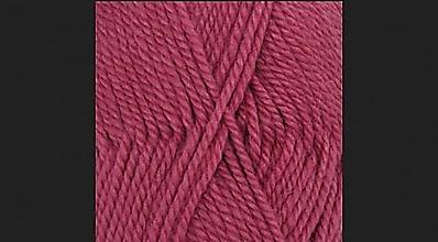 Čiapky - Háčkovaná čelenka CHRISSY (65% vlna & 35% alpaka) (fuchsiová) - 12403499_