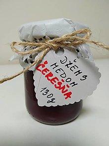 Potraviny - Čerešňový džem s medom - 12404058_