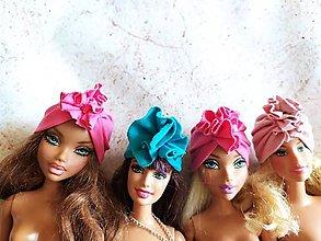 Hračky - Barbie, turbanová čiapka - 12402265_