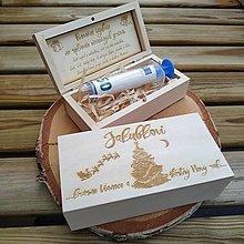 Krabičky - Vianočná krabička na darovanie peňazí - 12400541_