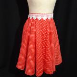 Sukne - Romantická sukňa s krajkou - 12404506_