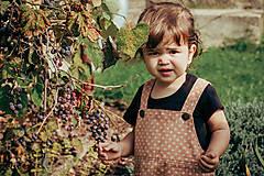 Detské doplnky - Detské zlaté náušnice s ametystom - MALÁláska - 12406292_