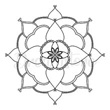Grafika - Ilustrácia Mandala - 12409015_