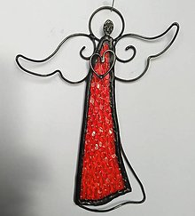 Dekorácie - Anjelik na stenu - 12407791_