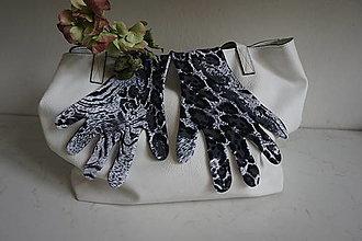 Rukavice - Rukavice - Snežný leopard - 12408473_