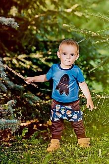 Detské oblečenie - tepláčiky astronaut - 12408932_
