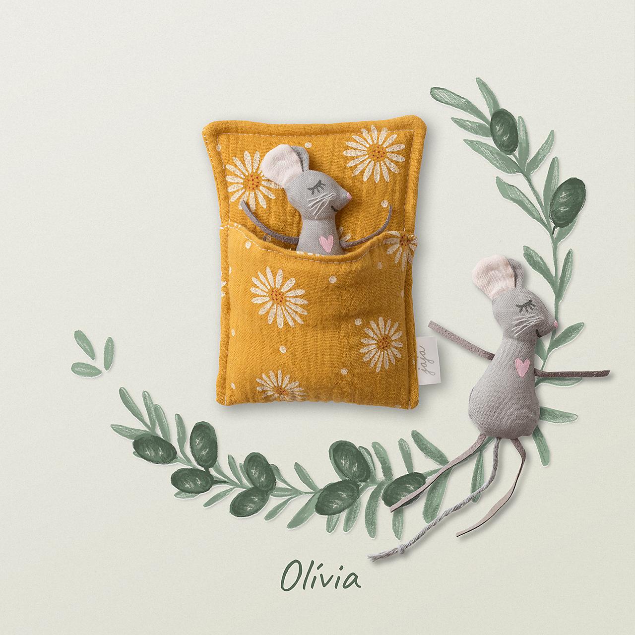 Hračky - Myška Olívia - 12408941_