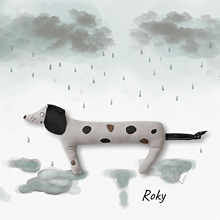 Hračky - Malý psík Roky - 12409301_