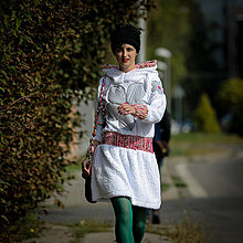 Mikiny - Origo mikino šaty ŇuŇU - 12409737_