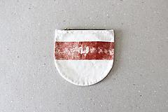 Taštičky - Linorytová kapsička /// mono - 12413091_