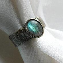 Prstene - Prsteň s labradoritom § ELEONORE § - 12412614_