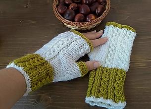 Rukavice - Bezprstové rukavice - 12412597_