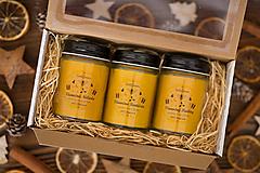 Darčeková sada sviečok zo 100% včelieho vosku -