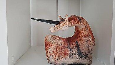 Socha - Keramika, Horse Hair - 12411362_