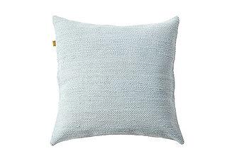 Úžitkový textil - MENTOLOVÝ vankúš ZIVA, 45 x 45 cm - 12413454_