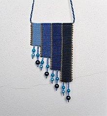 Náhrdelníky - Macramé náhrdelník Sky 2 - 12411919_