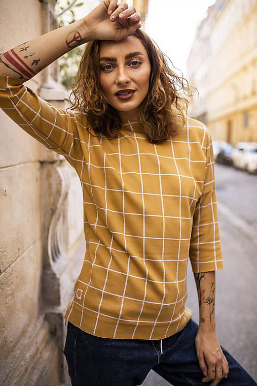 Mikiny - Mikina Monica - žltá - 12412523_