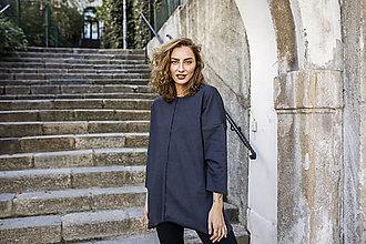 Mikiny - Mikina Rachel - šedo-čierna - 12413374_