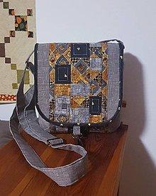 Kabelky - Klimt crossbody sivá - 12414526_