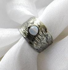 Prstene - Prsteň s chalcedónom ☼TIPHANIE☼ - 12415250_