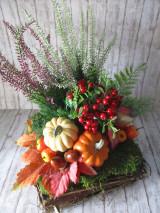 Dekorácie - Jesenná dekorácia - 12414654_