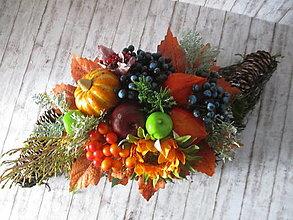 Dekorácie - Jesenná dekorácia - 12414717_