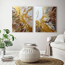 Obrazy - Zlatá zem - 12415943_