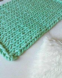 Úžitkový textil - CHUNKY THROW - deka - 12416239_