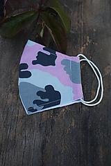 Rúška - Rúška maskáčové vo farbách - 12417380_