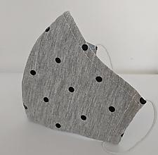 Rúška - Tínedžeri bavlnený úplet - 12414884_