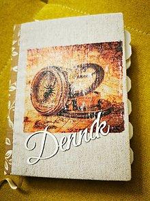 Papiernictvo - Učiteľský zápisník na želanie - 12416062_