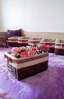 Košíky - Košíky čokoládové MAJKA - 12414767_