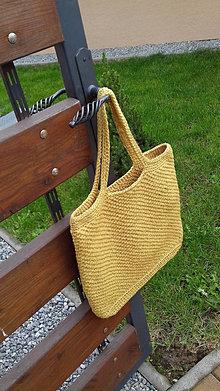 Veľké tašky - Taška háčkovaná - 12419806_
