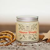 Sviečka zo 100% sójového vosku - Vianočné Perníčky