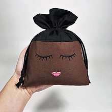 Úžitkový textil - Vrecúško dievča (Erika) - 12421882_