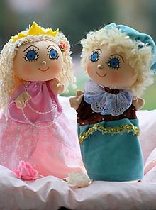 Hračky - Maňuška. Princ a princezná zo Snežného kráľovstva. - 12419227_