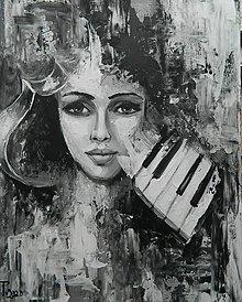 Obrazy - MELODY DREAMING - 12420747_