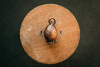 Náhrdelníky - Prívesok šípka (šípka patina) - 12420603_