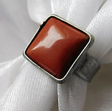 Prstene - Prsteň s jaspisom § MICHA § - 12425868_