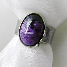 Prstene - Prsteň s čaroritom § EDELGARD § - 12425955_